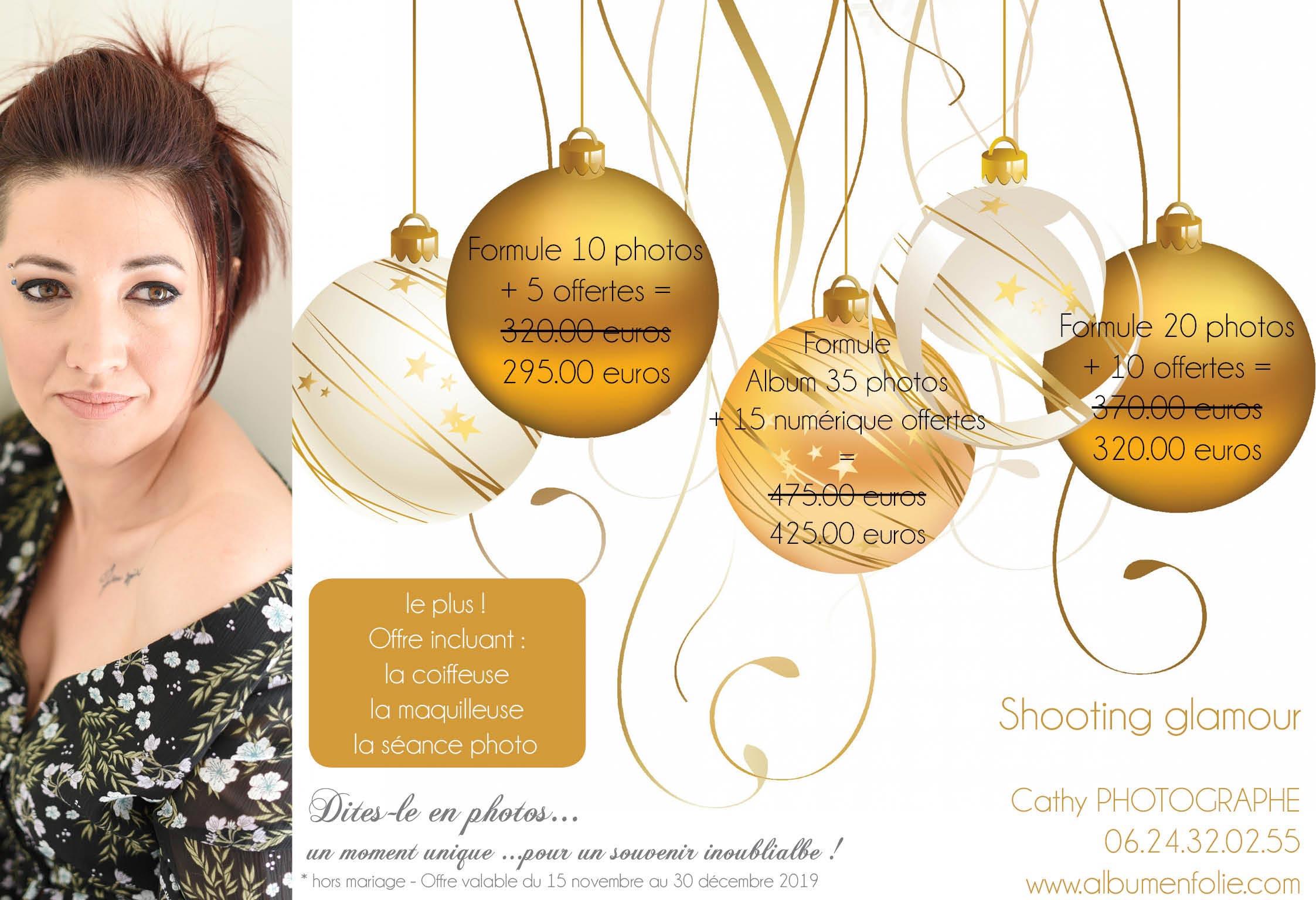 Offres de Noel glamour 2019