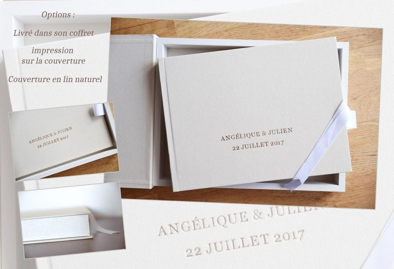 Album haute gamme mariage coffret
