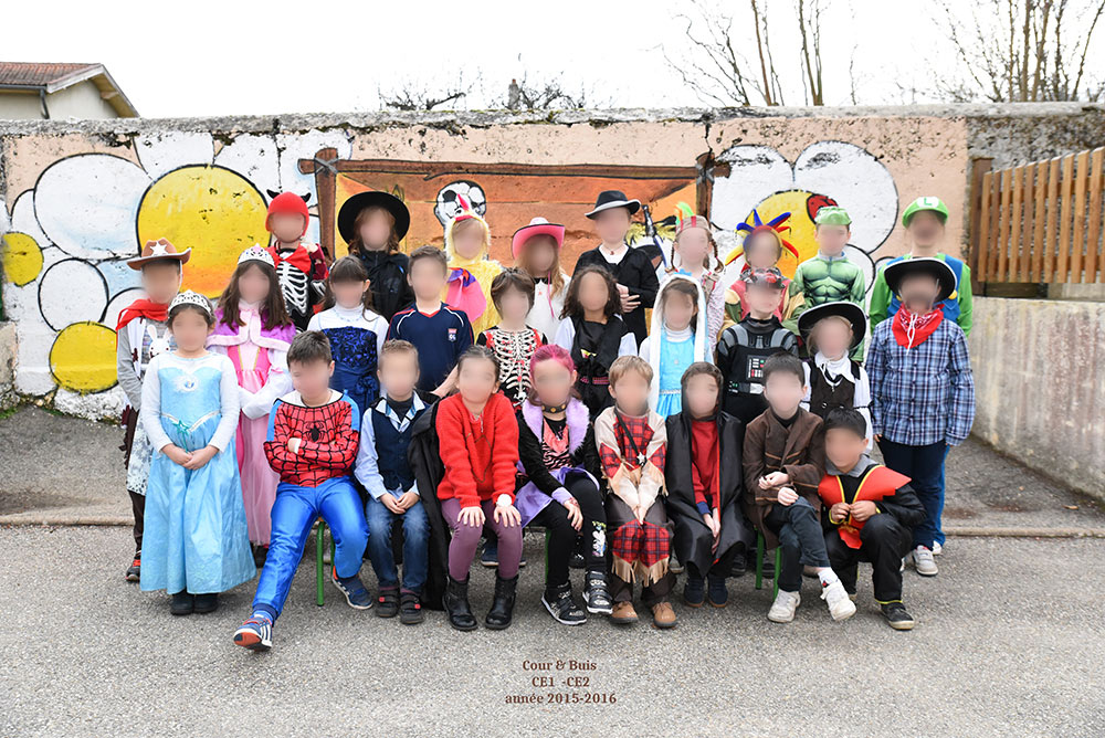 Groupe scolaire primaire carnaval