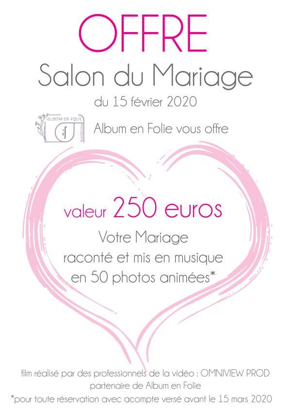 Offre Salon du Mariage 2020