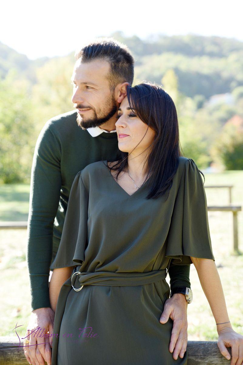 Séance photo en couple pour engagement à Lyon