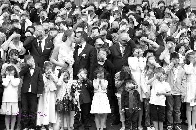 photo de groupe originale pour mariage