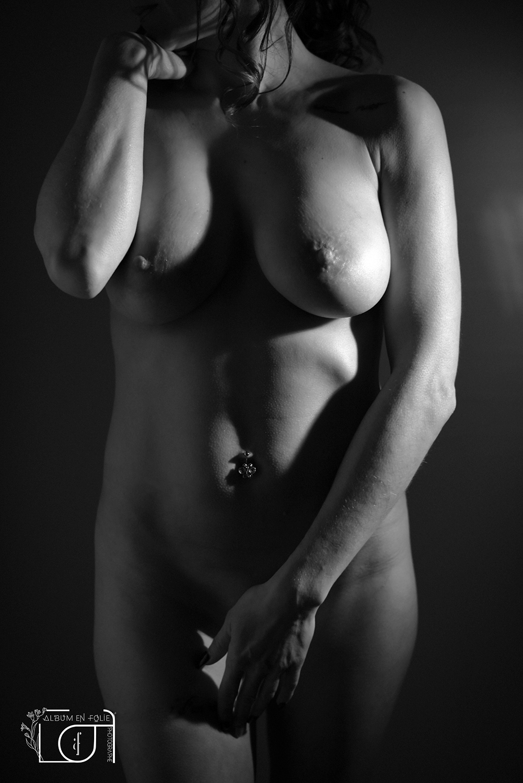 Photographe de nu noir et blanc