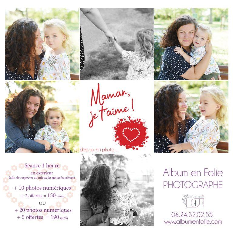 Box cadeau photo Fête des mères à Lyon