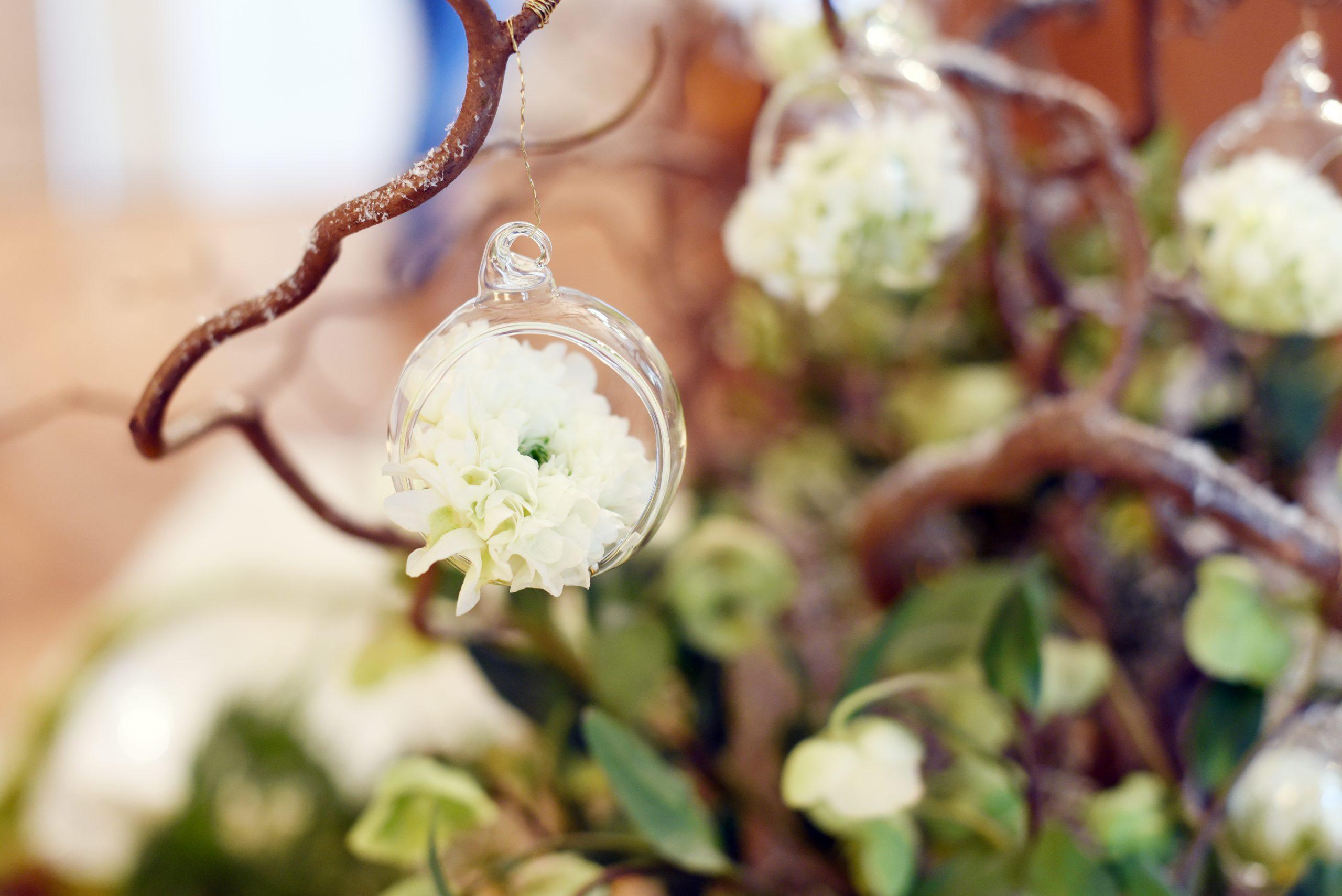 Décoration fleurs Table de mariés