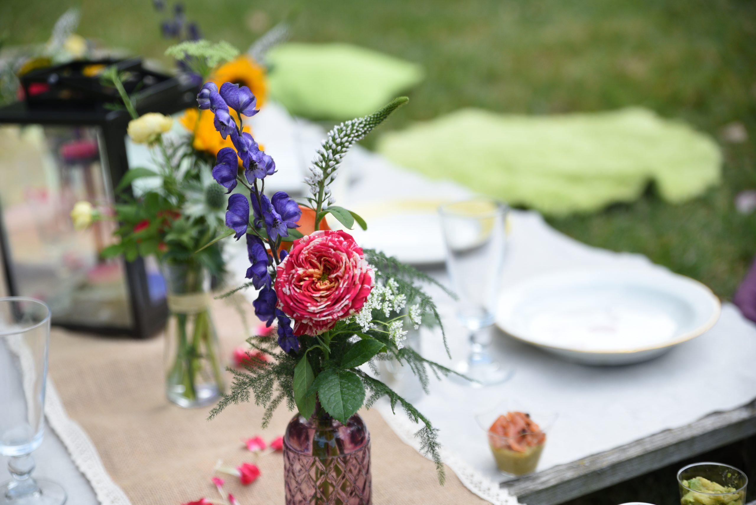 décoration florale champêtre