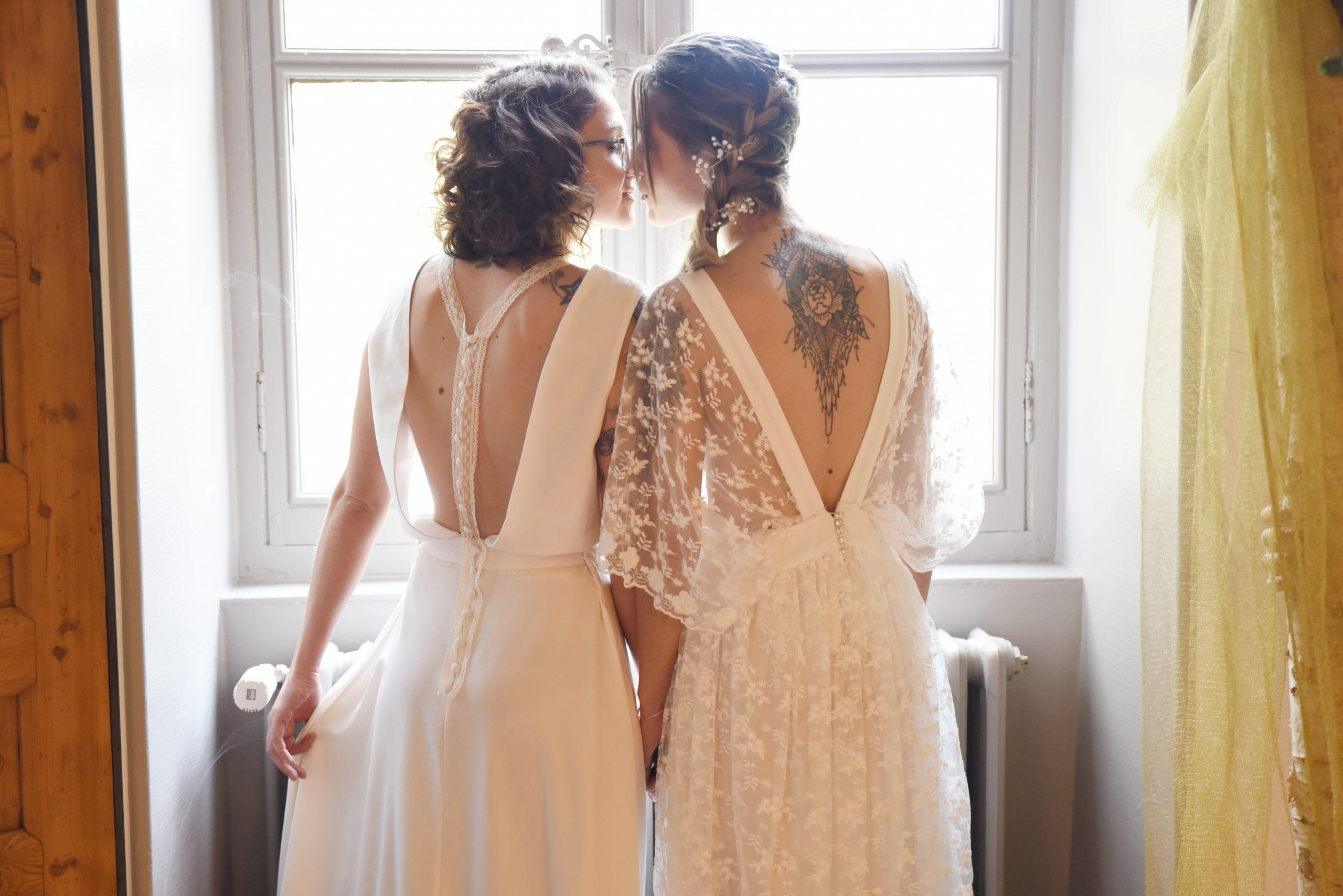 les Mariées au salon du Mariage