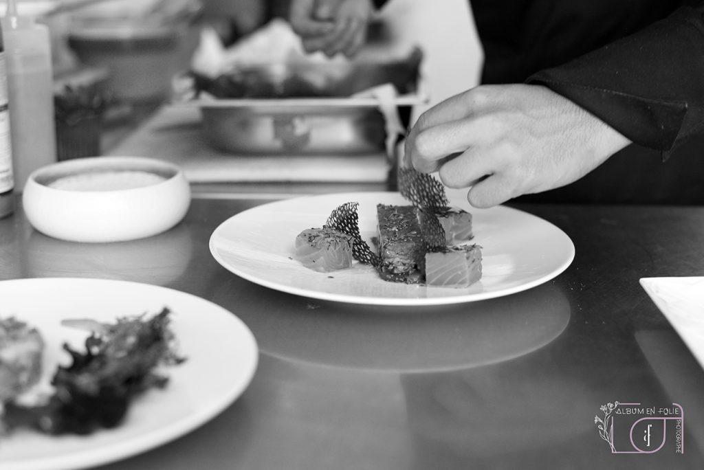 Reportage en cuisine gastronomique