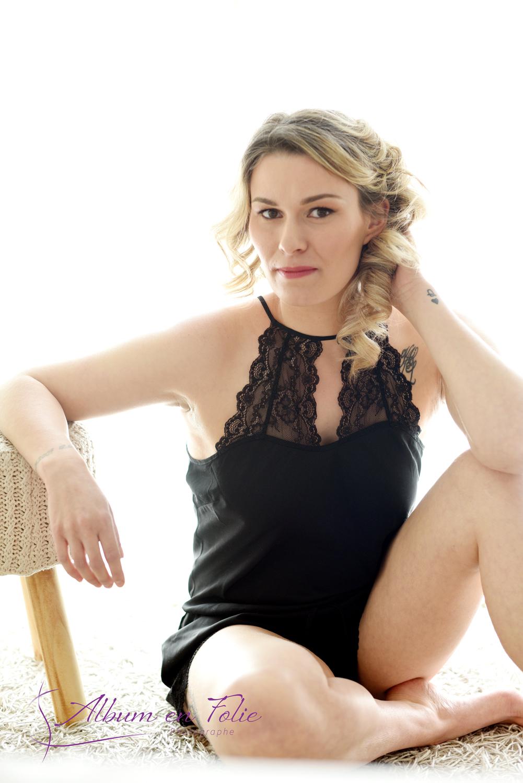 portrait femme glamour et sexy