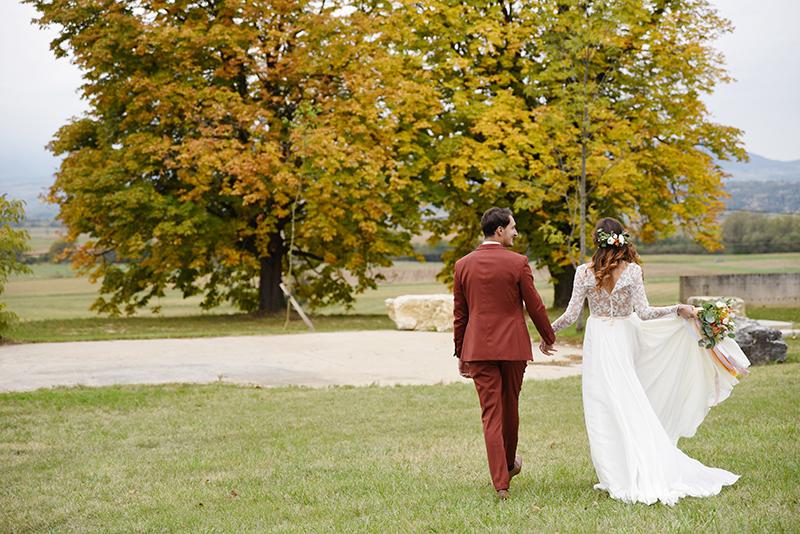 Domaine aux couleurs d'automne