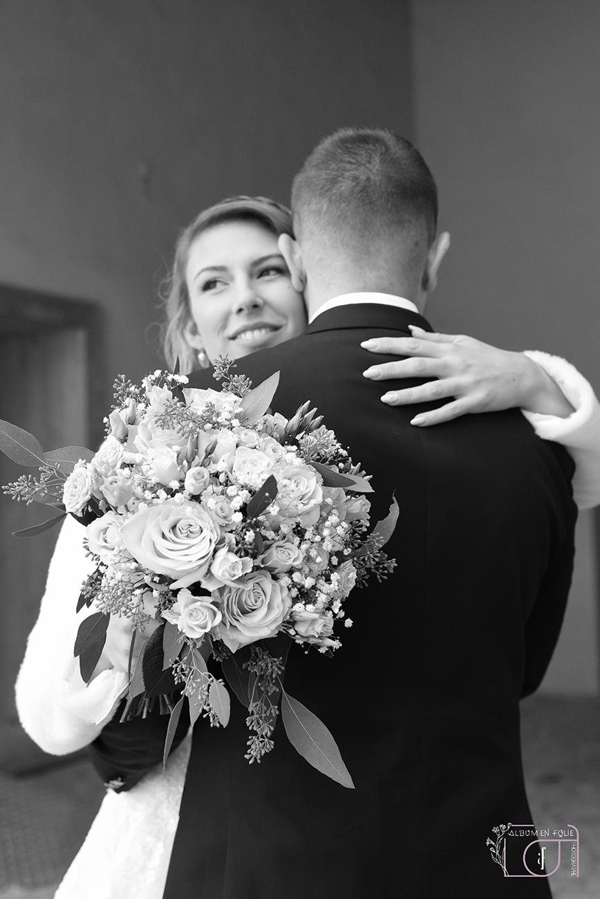Les mariées noir et blanc