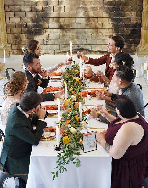 Mariage et repas au Domaine de la Barbelière