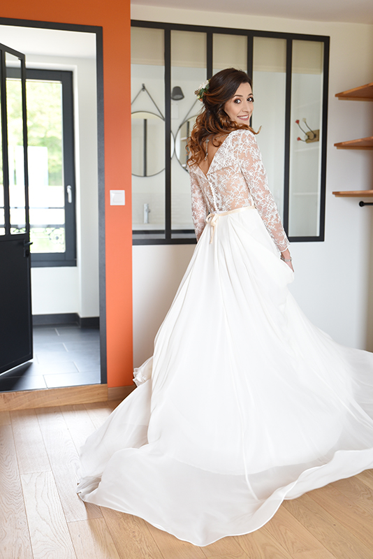 Robes de mariage fluide