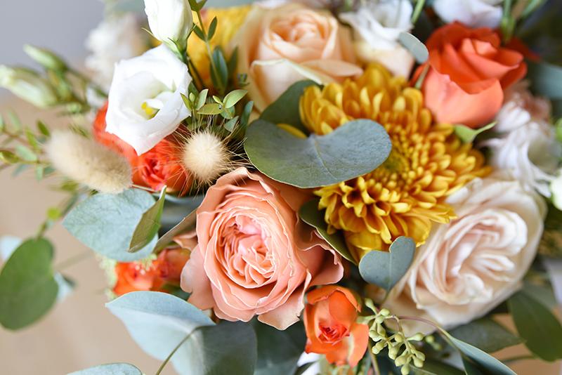 bouquet mariage aux couleurs d'automne