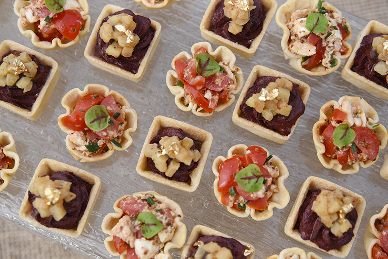petits fours mariage automne