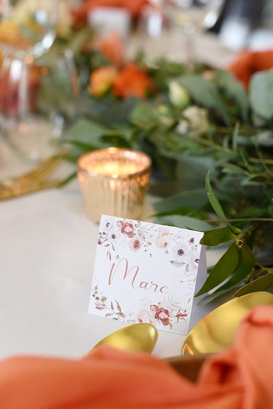 plan de table pour mariage