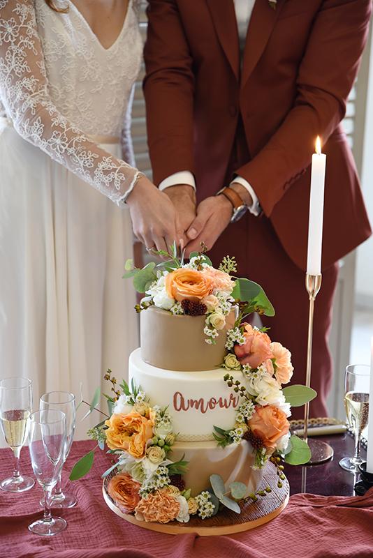wedding cake bohème